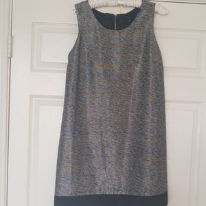 Gorgeous silk metallic dress